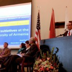 At ArmTech 2012, AUA President Discusses Future of Entrepreneurship in Armenia