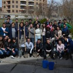 AUA Organizes Cleanup and Tree Planting for Yerevan Community Work Weekend