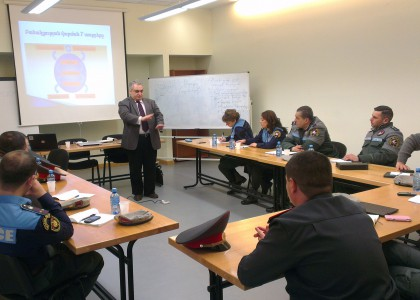 CEN Yerevan Organizes Crowd Negotiation Workshops for Yerevan Police