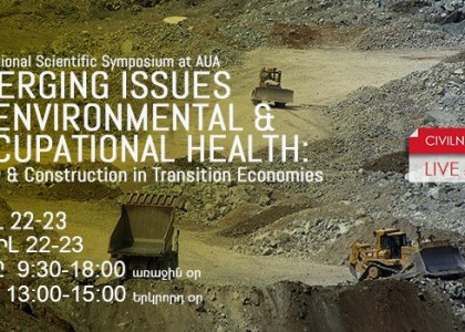 International Conference to Tackle Mining's Impact on Environment and Health in Armenia