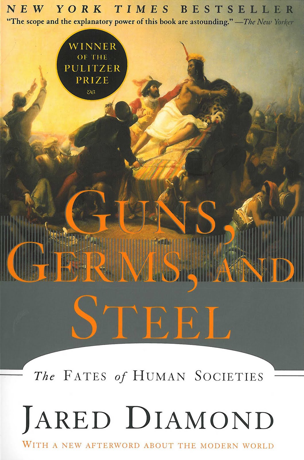 guns germs and steel Find great deals on ebay for guns, germs and steel shop with confidence.