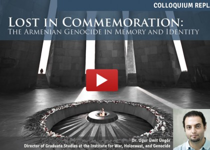 Despite Denial, Turks and Kurds Remember Armenian Genocide, Says Reparations Scholar