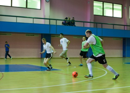 AUA Students, Faculty, and Alumni Compete in Community-Wide Soccer Tournament