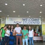 AUA's First Undergraduate Class Gathers for Orientation