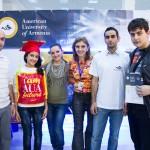 AUA College of Science & Engineering Participates in 2013 DigiTec Expo