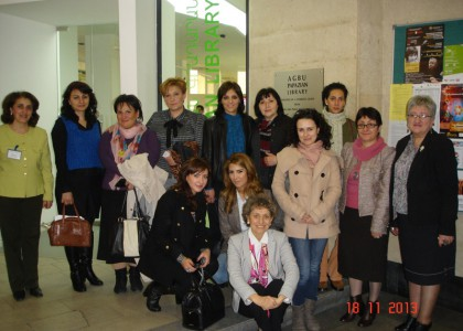 AUA'S AGBU Papazian Library Hosts University Librarians from All Over Armenia