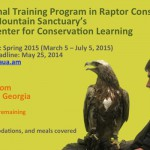 International Training Program in Raptor Conservation at Hawk Mountain Sanctuary's Acopian Center for Conservation Learning
