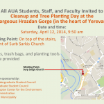 Cleanup & Tree Planting at Hrazdan Gorge