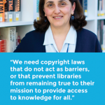 AGBU Papazian Library Staff Member Shares Importance of Effective Copyright Laws