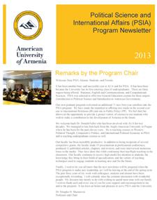 PSIA-Newsletter