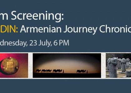 Film Screening: ANDIN: Armenian Journey Chronicles