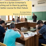Q&A with Dr. Arpie Balian: Why Should We Support the AUA for Syrian Armenians Campaign? Part II