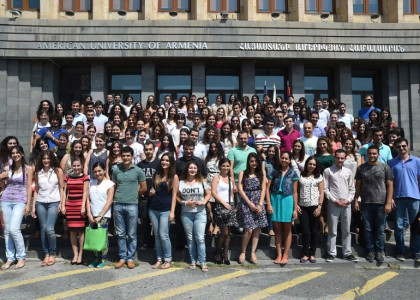 Incoming Graduate Students Attend Orientation