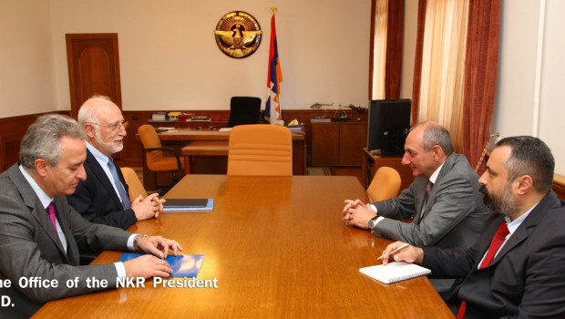 AUA President and Vice President Travel to Nagorno-Karabakh on Occasion of The Day of the Republic of Artsakh