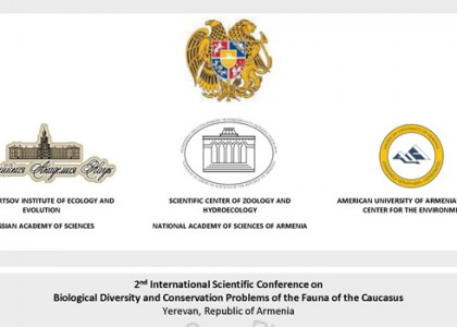 Conference: 2nd International Scientific Conference on Biological Diversity and Conservation Problems of the Fauna of the Caucasus