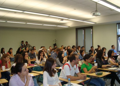 Guest lecture Professor Eiki Berg spoke on EU Enlargement & Neighborhood Policies at AUA