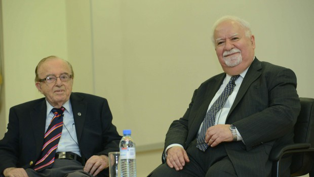 Conversation with Two Great Men of Education: Media Coverage of AUA's Talk with Mihran Agbabian and Vartan Gregorian – October 14, 2014
