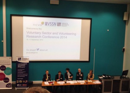 TCPA Presents Research at 20th Annual Voluntary Sector and Volunteering Research Conference in Sheffield, UK
