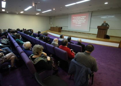Peter Cowe, UCLA Professor of Armenian Studies, Lectures at AUA