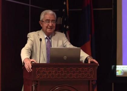 Dr. Haroutune Armenian Presents on Turpanjian Rural Development Program