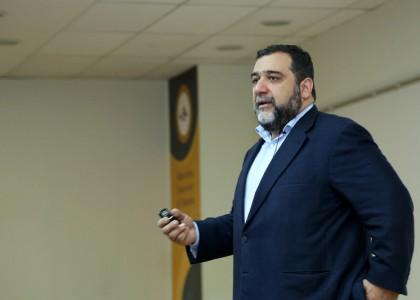 Ruben Vardanyan Speaks at AUA