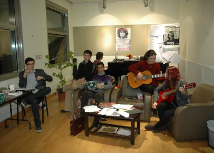 AUA Creative Writing Club Performs as 'Writers on the Storm'