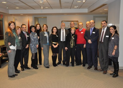 AUA Alumni and Leadership Gather, Honored with Presence of Louise Manoogian Simone