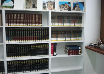 AGBU Papazian Library Receives Collection of 'Great Books of the Western World'