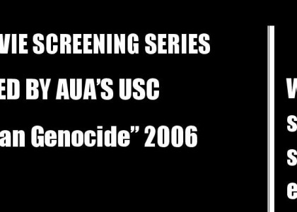 Undergraduate Student Council Honors Centennial with Genocide Movie Screening Series