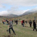 TRDP Beneficiary Organizes Tree Planting to Commemorate 100th Anniversary of Armenian Genocide