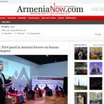 ArmeniaNow: #AGBUTalks: First panel in Armenia focuses on human capital and Diaspora