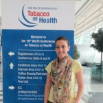 School of Public Health's Arusyak Harutyunyan Attends World Conference on Tobacco or Health