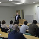 International Monetary Fund Researchers Meet with College of Business and Economics Faculty and Students