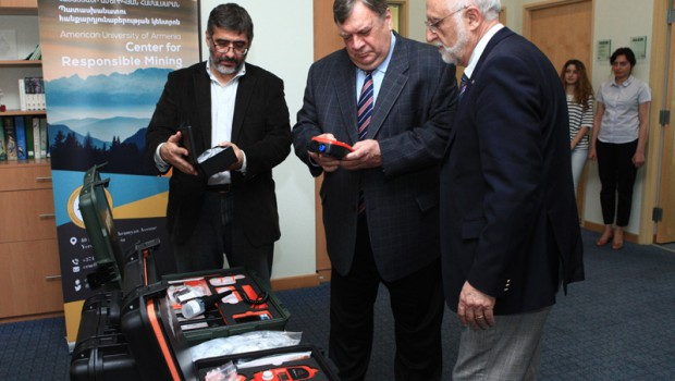 OSCE Provides Environmental Equipment to the American University of Armenia
