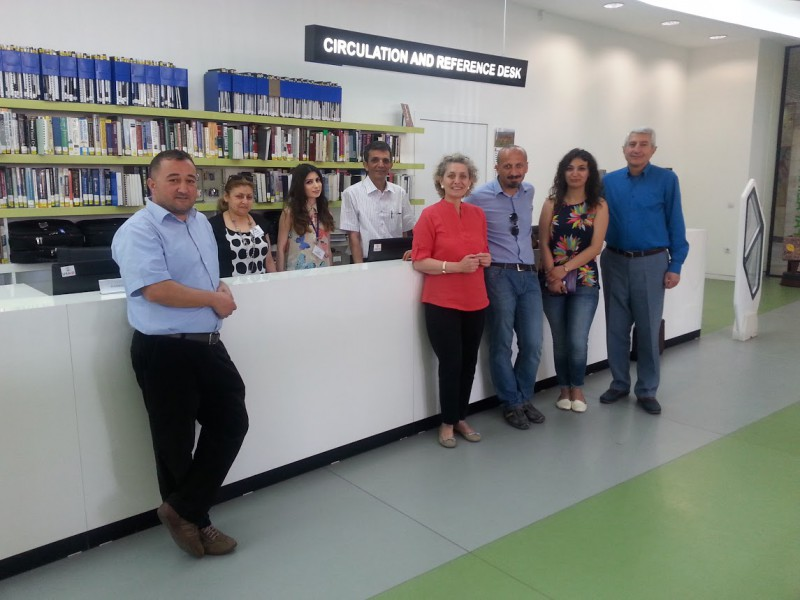 Hosting-Turkish-colleagues-at-AGBU-Papazian-Library