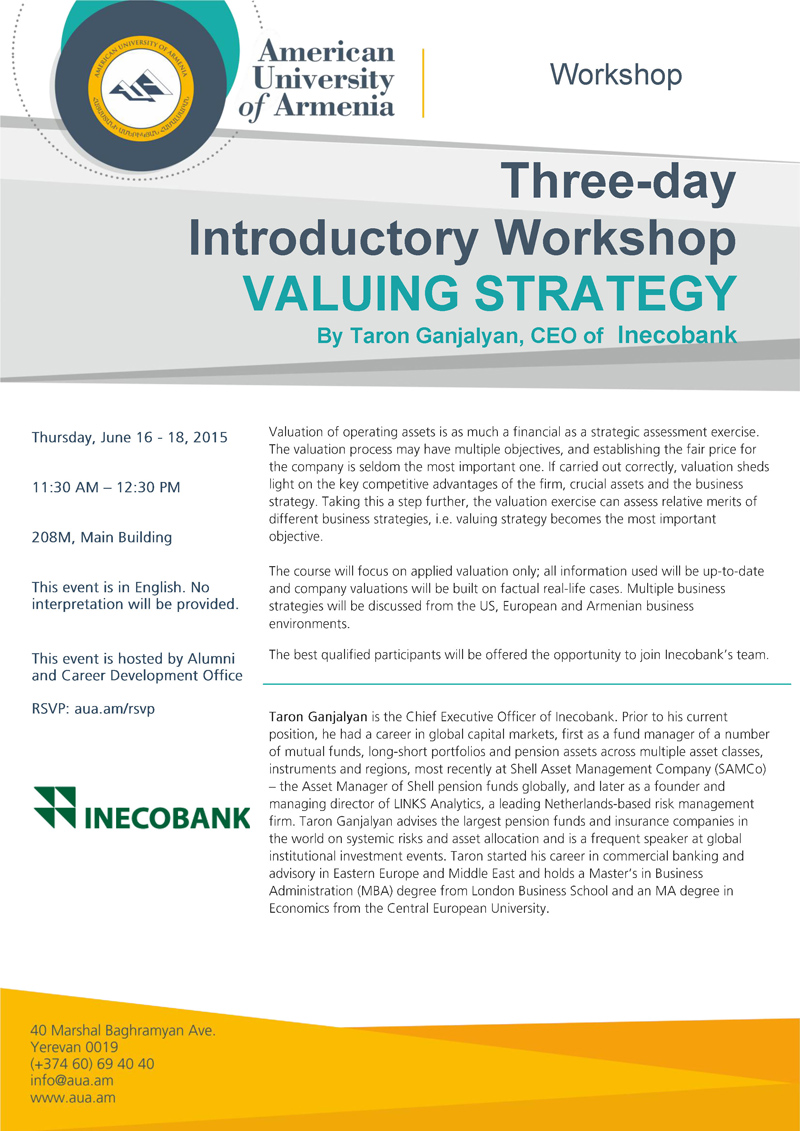 valuing strategy
