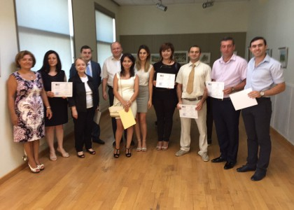 AUA Awards Certificates in Business Management