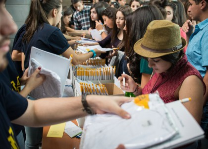 AUA Welcomes Over 400 New Undergraduates for Orientation