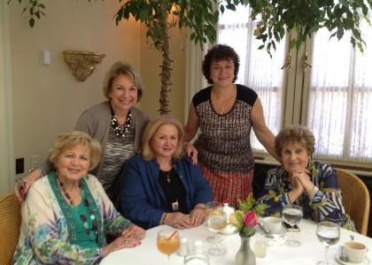 Ladies Do Lunch, but Also Talk Philanthropy