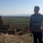 Karl Afrikian, AUA's First Study Abroad Student, Returns to Armenia to Volunteer