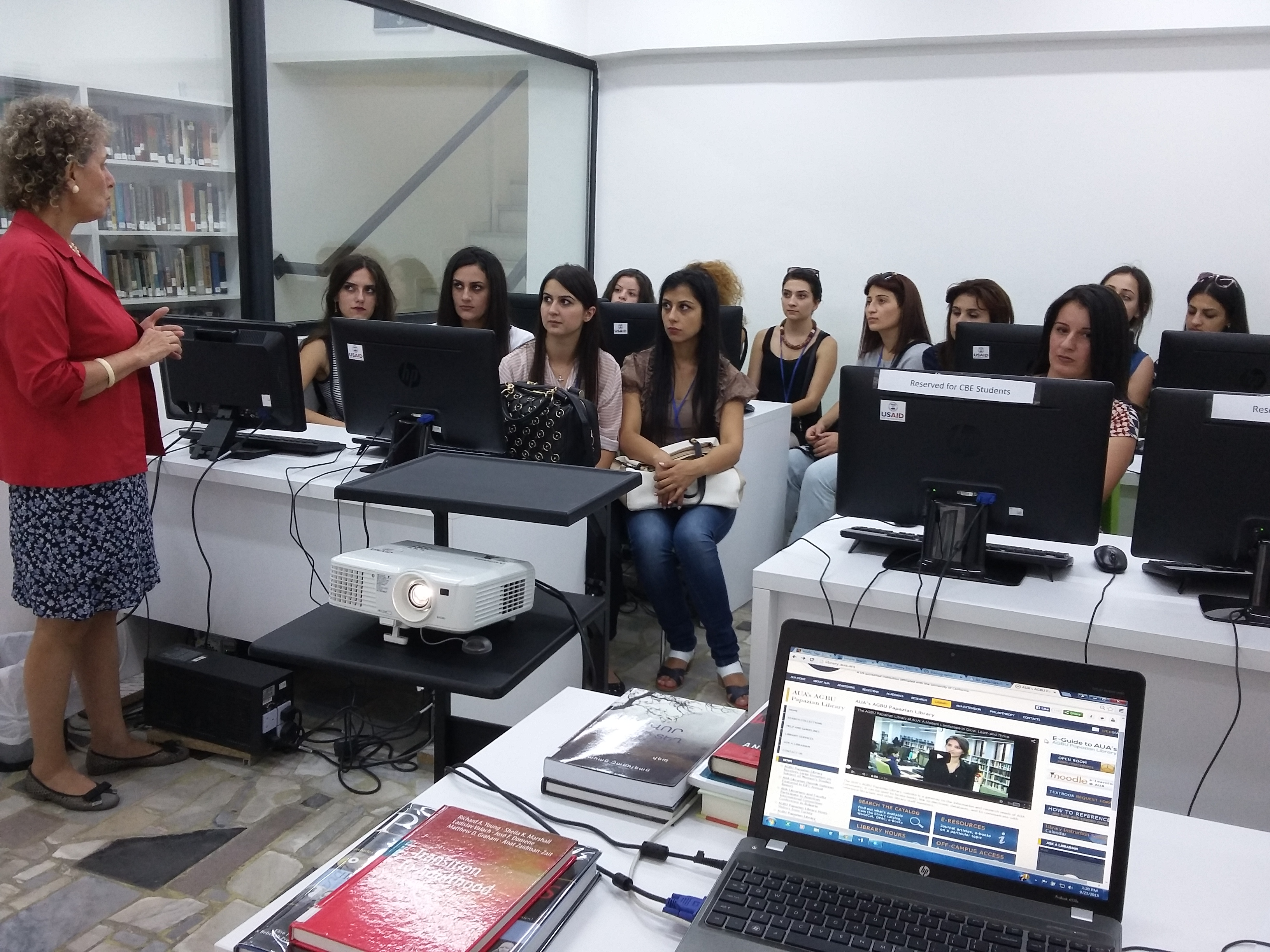 Satenik Avagyan introduces Library automation system