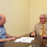 Azdak Oratert: AUA President Emeritus Haroutune Armenian Has Interview With Beirut-Based Aztag Daily; Talks About AUA Programs (in Armenian)