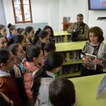 AUA AGBU Papazian Library Hosts KapanYouth Leadership SchoolRepresentatives