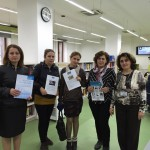 AUA's AGBU Papazian Library Hosted Visitors from Mkhitar Sebastatsi Educational Complex
