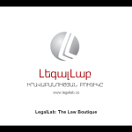 LegalLab Law Boutique, Founded by AUA Alumni, Becomes First Armenian Law Firm to Launch a US Office