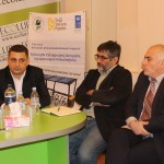 AUA ACE's Director Talks during Ecolur NGO's Roundtable Discussion on Climate Change and Sustainable Energy