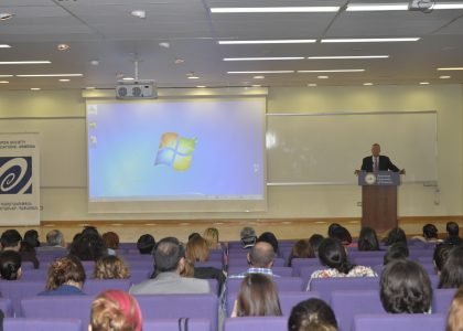 Public Lecture: Promoting Human Rights in an Era of Terrorism, by Aryeh Neier