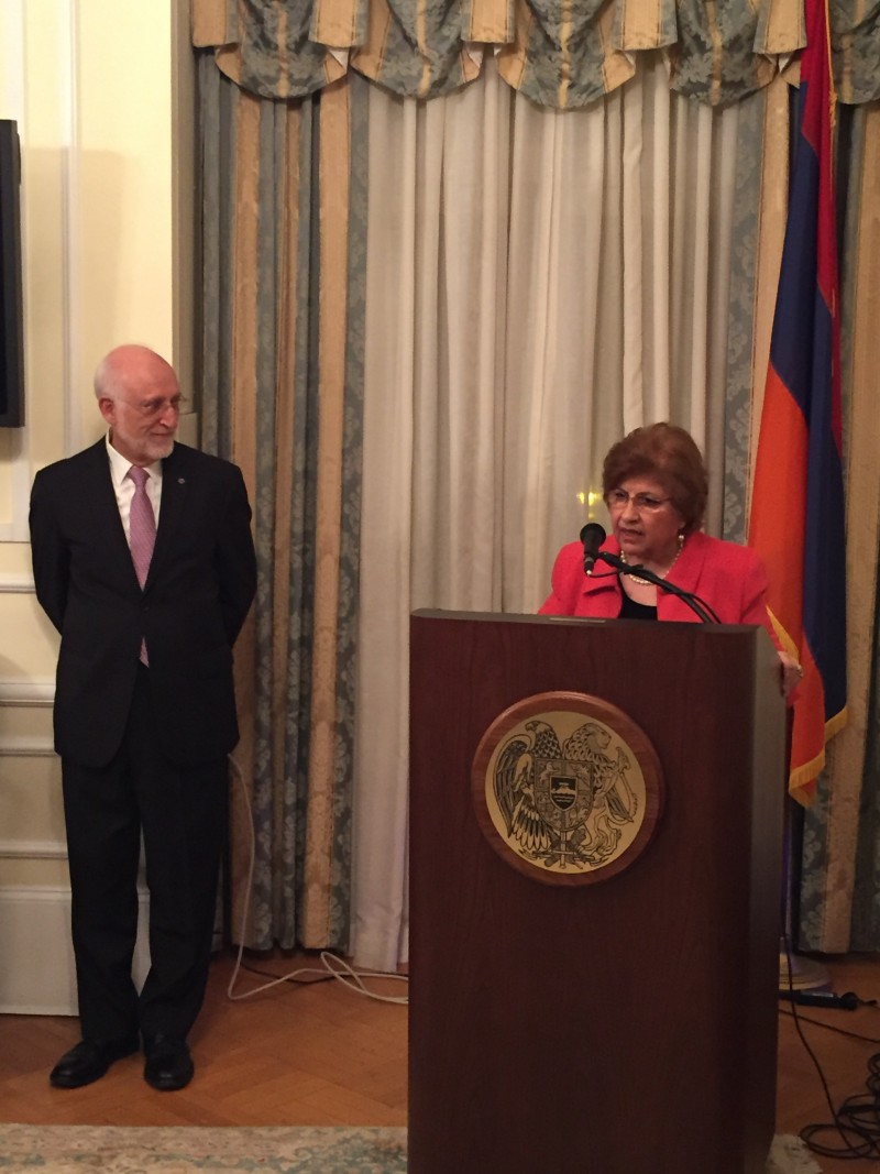 Speech by Armenian-American Womens Wellness Center FounderMrs. Rita Balian
