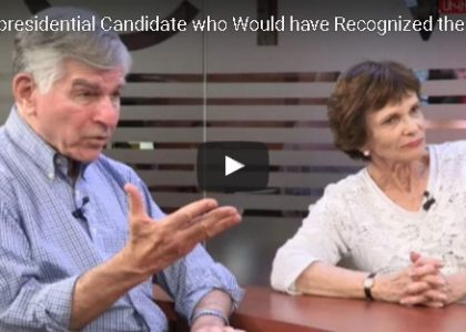 Governor Dukakis and Wife Katharine Dukakis Speak About AUA in Interview with CivilNet TV