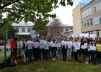 Edible Schoolyard Pilots in Two Yerevan Schools